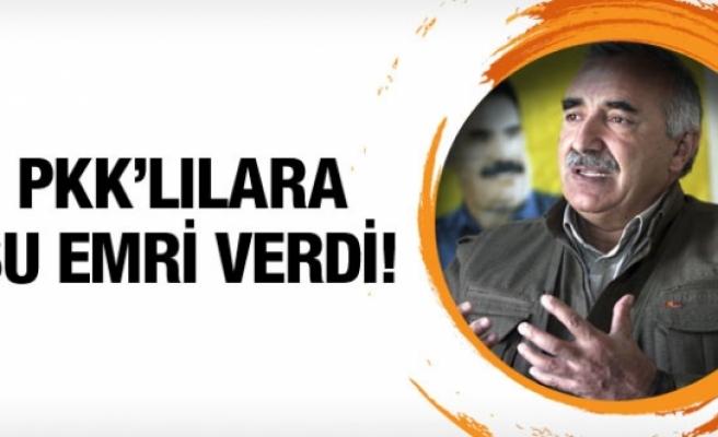 Murat Karayılan'dan PKK'lılara çağrı!