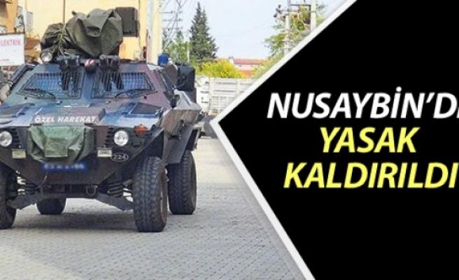 Nusaybin'de yasak kaldırıldı