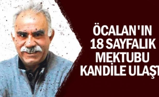 Öcalan'ın KCK'ye mektubu Kandil'e ulaştı