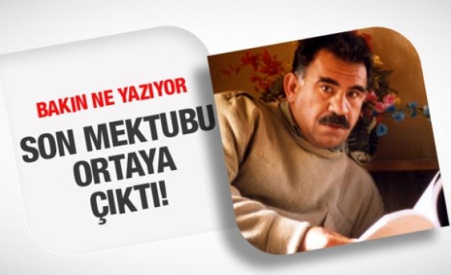 Öcalan'ın son mektubu ortaya çıktı! Bakın neler yazıyor