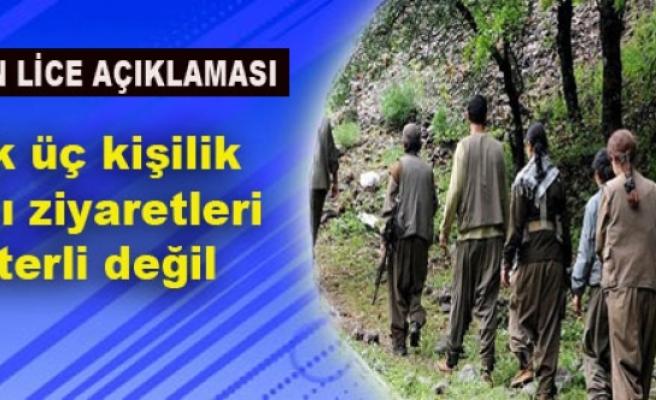 PKK: Artık üç kişilik İmralı ziyaretleri yeterli değil