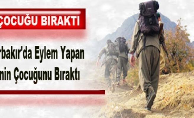 PKK, Biri Diyarbakır'da Eylem Yapan İki Ailenin Çocuğunu Bıraktı