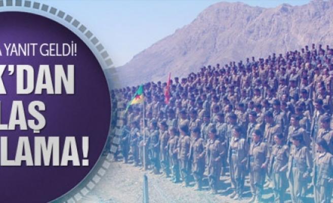 PKK'dan o iddiaya yanıt!