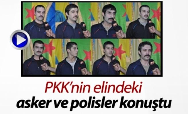 PKK'nin Elindeki Asker ve Polisler Konuştu