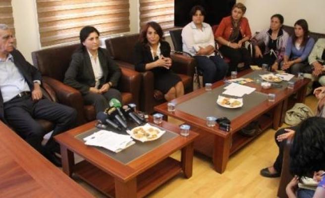 Pyd Eş Başkanı Abdullah'tan Dtk'ya Ziyaret