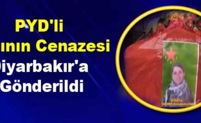 PYD'li Kadının Cenazesi Diyarbakır'a Gönderildi