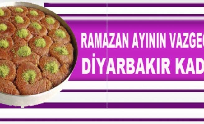 Ramazan Ayının Vazgeçilmez Tatlısı: Diyarbakır Kadayıfı