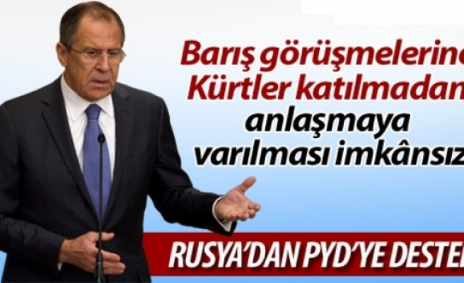 Rusya: Barış görüşmelerine Kürtler katılmadan anlaşmaya varılması imkânsız