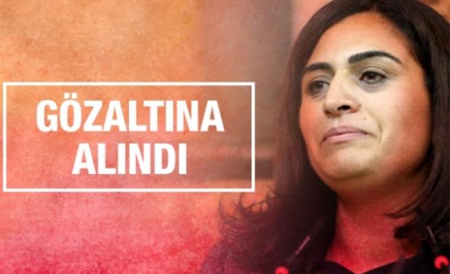 Sebahat Tuncel İstanbul'da gözaltına alındı