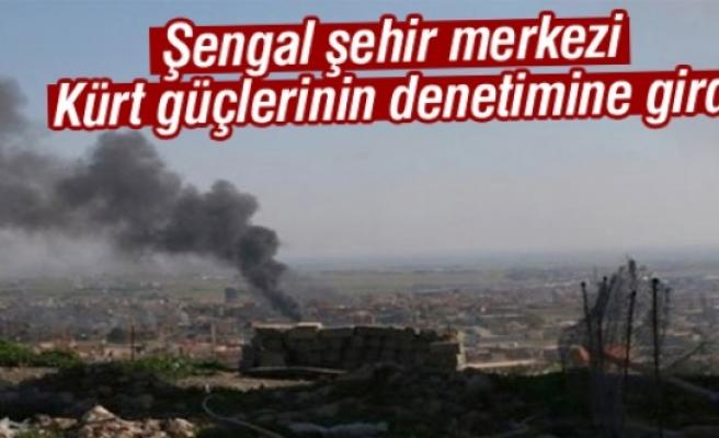Şengal şehir merkezi Kürt güçlerinin denetimine girdi