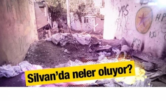 Silvan son durum 500 ev harabeye döndü!