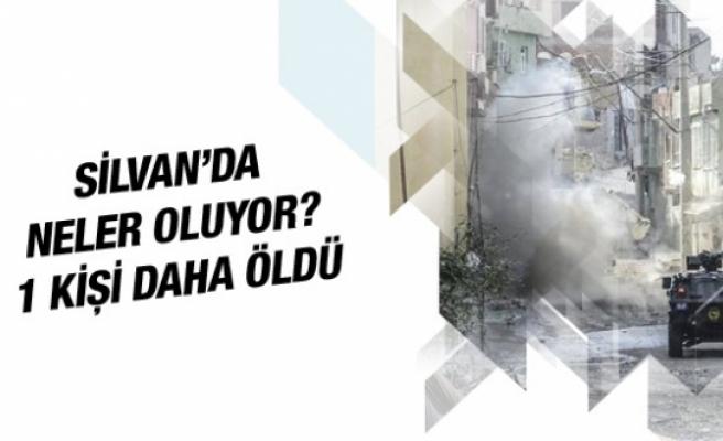 Silvan'da çatışma son durum 1 kişi öldü