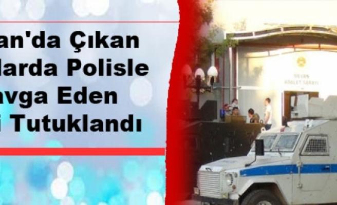 Silvan'da Çıkan Olaylarda Polisle Kavga Eden Kişi Tutuklandı