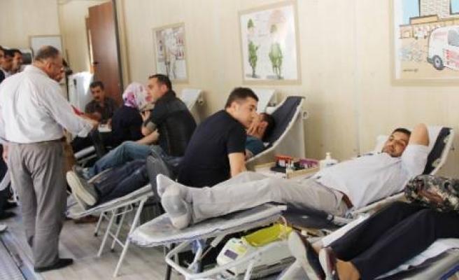 Silvan'da Kan Bağışı Kampanyası