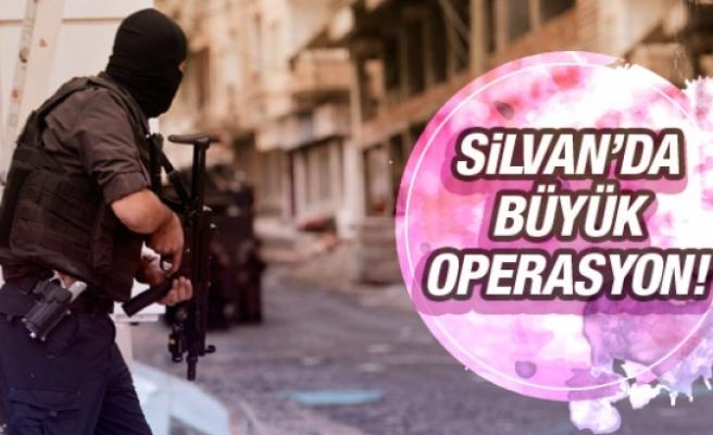 Silvan'da PKK'ya operasyon sürüyor