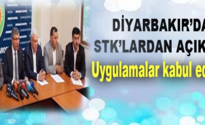 STK'lardan KDP'ye: Uygulamalar kabul edilemez