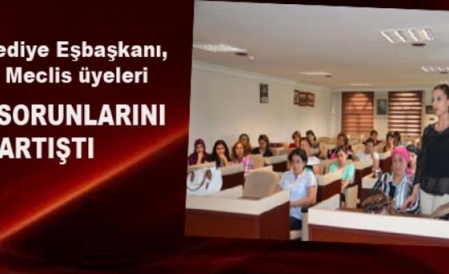 Sur Belediye Kadın Meclisi Kadın sorunlarını tartıştı