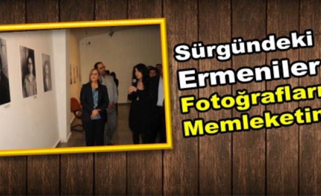 Sürgündeki Ermeniler Fotoğraflarıyla Memleketinde
