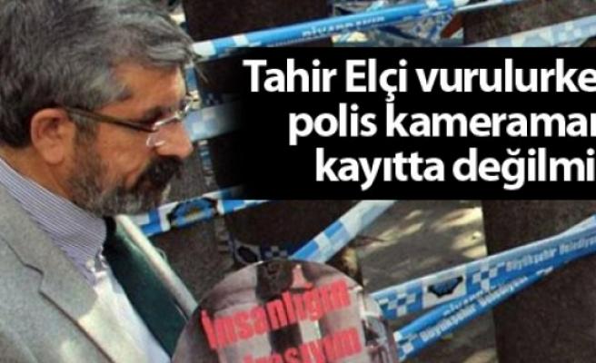Tahir Elçi vurulurken polis kameramanı kayıtta değilmiş!