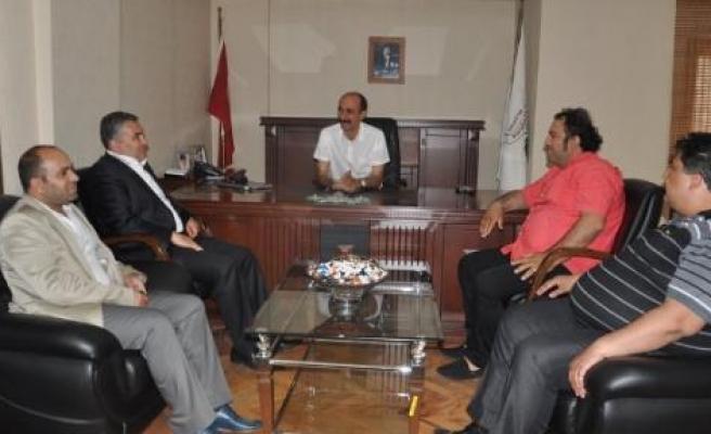 TBF'den Kurbanoğlu'na Ziyaret
