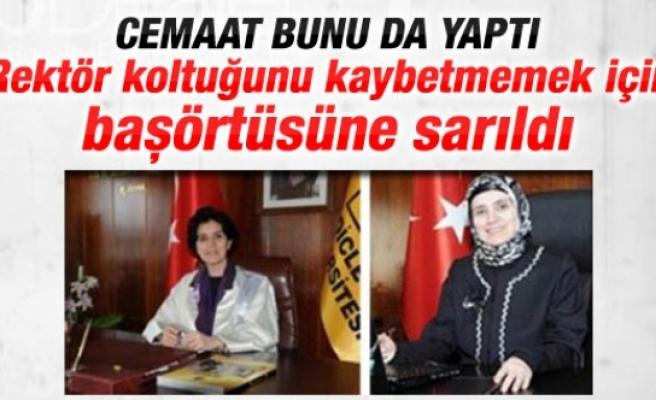 Türkiye'de bir ilk: Kadın rektör tesettüre girdi