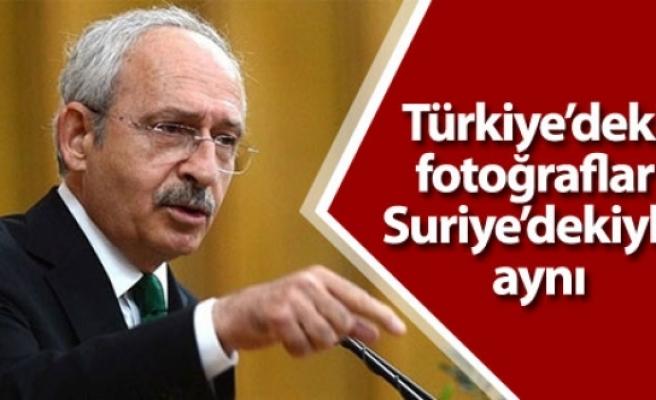 'Türkiye'deki fotoğraflar Suriye'dekiyle aynı, kim bu hale getirdi?'