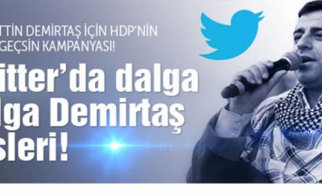 Twitter'da Demirtaş sesleri dalga dalga büyüyor!