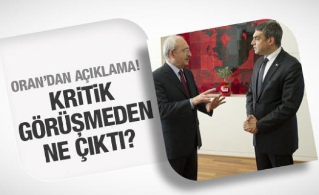 Umut Oran ve Kılıçdaroğlu görüşmesinden ne çıktı?