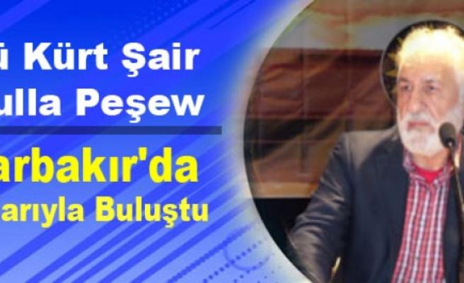 Ünlü Kürt Şair Peşew Diyarbakır'da Okurlarıyla Buluştu