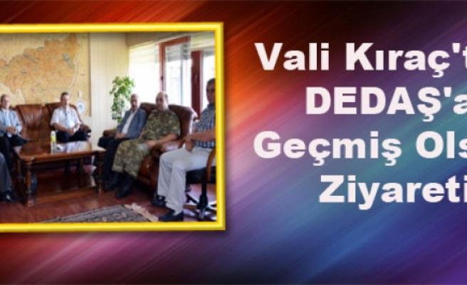 Vali Kıraç'tan DEDAŞ'a Geçmiş Olsun Ziyareti