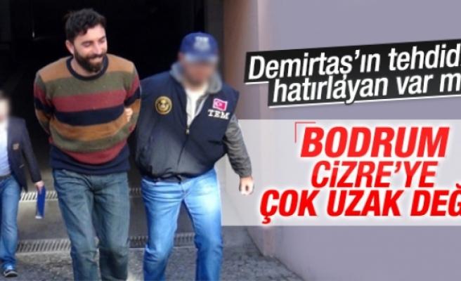 Yakalanan PKK'lı adliyeye giderken güldü