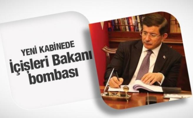 Yeni kabine İçişleri Bakanı bombası
