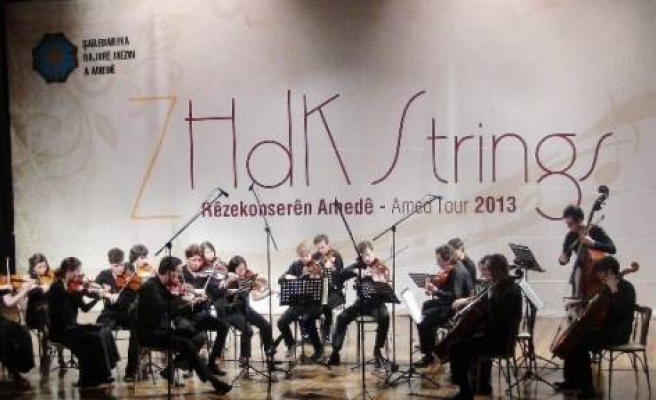 Zürih Orkestrası Diyarbakır'da