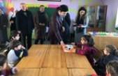 Çınar'da Öğrenciler Karnelerini Aldı