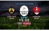 3.LİG'E YÜKSELME FİNAL MAÇİ TRT KURDİ'DE