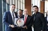 2.Lig Ve 3.Lig Kulüpleri Başkan Özdemir'i Ziyaret Etti