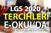 2020 LGS Tercihleri bu gün başladı...