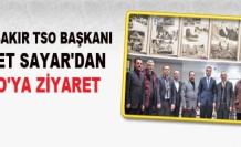 Diyarbakır Tso Başkanı Sayar'dan İtso'ya Ziyaret