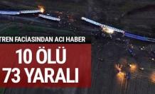 İstanbul seferini yapan tren devrildi: Ölü ve yaralılar var!