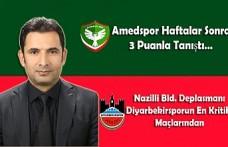 Amedspor Haftalar Sonra 3 Puanla Tanıştı…Nazilli Bld. Deplasmanı Diyarbekirsporun En Kritik Maçlarından