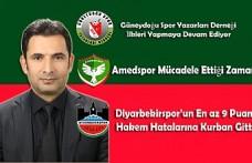 GSYD Teşekkür, Amedspor Mücadele ve Zafer, Diyarbekirspor'un 9 Puanı...