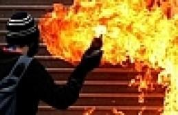 Silvan'da Okullara Molotof Kokteylli Saldırı