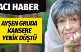 Ayşen Gruda hayatını kaybetti eşi kimdir tek bir...