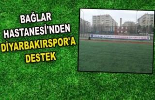 BAĞLAR HASTANESİ'NDEN DİYARBAKIRSPOR'A...