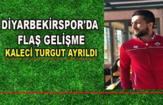 DİYARBEKİRSPOR'DA FLAŞ GELİŞME KALECİ TURGUT...