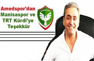 Amedspor'dan Manisaspor Ve TRT Kürdi'ye...