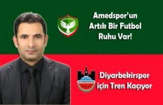 Amedspor'un Artık Bir Futbol Ruhu Var!