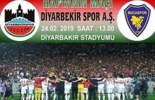 Diyarbekirspor-Buca Maçının Biletleri Satışa...