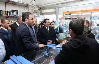 Spor Bakanı Kasapoğlu Diyarbakır'da