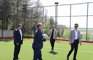 Sporsever Validen Siirt'e Dev Tesis Ve TRT Kurdi'ye...